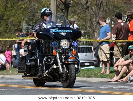 Police Motorcycle Marathon 2012 Boston