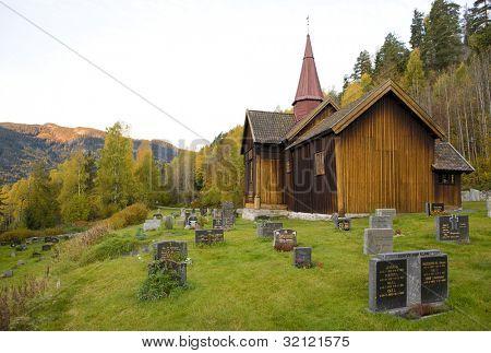 Rollag Stavkirke, Norway