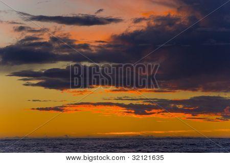 sunset, Lista, Norway