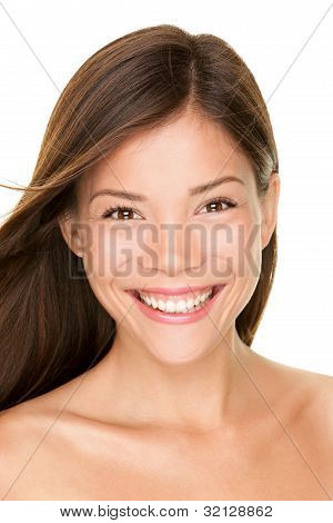 Asian Woman Beauty Portrait