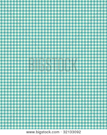 Blue Checker Plaid Paper