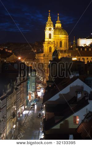 St.nicholas Cathedral In Mala Strana, Prague