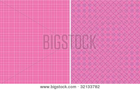 Hot Pink Houndstooth Paper Set