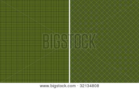 Black & Green  Houndstooth Paper Set