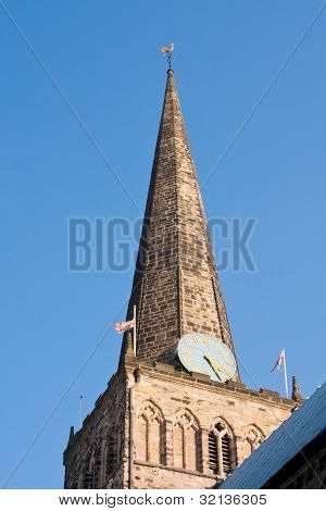 St. Cuthberts church spire