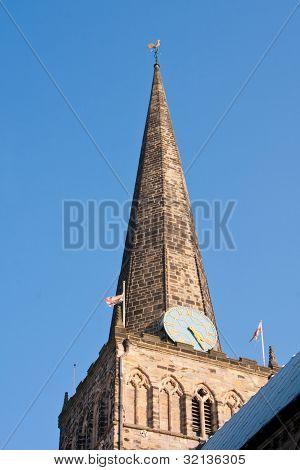 St. Cuthberts church spire