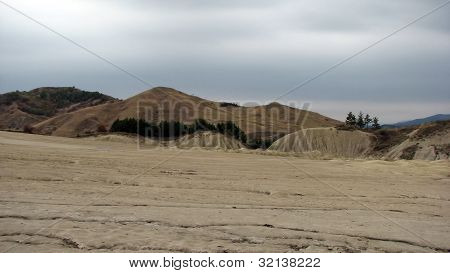 Tourist attraction, Mud Volcanoes From Buzau, Romania