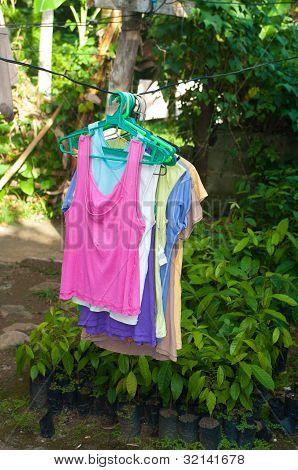 Cloths On Hangers