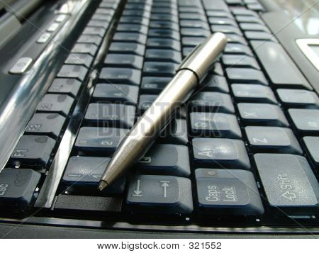 Laptop With Pen
