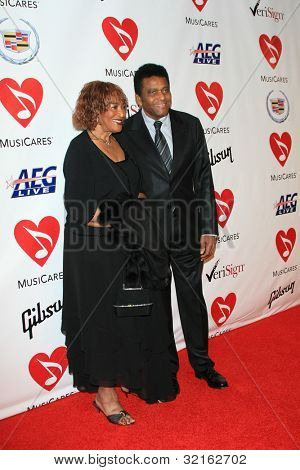LOS ANGELES, CA - FEB 9: Charley Pride at the 2007 MusiCares Person Of The Year at the LA Convention Center on February 9, 2007 in Los Angeles, California