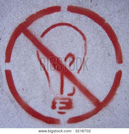 No Idea Grafitti Stencil
