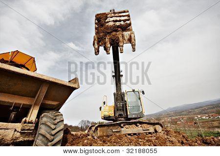Tracked Excavator