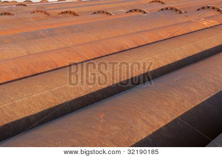 Iron Pipes For Sand Transport