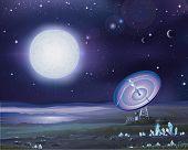 Постер, плакат: Чужеродные астрономия