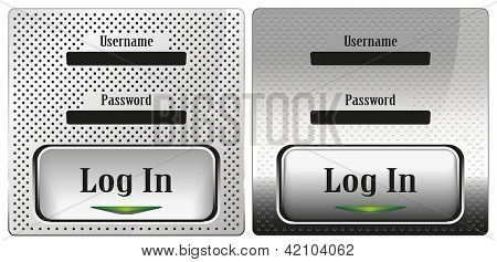 log in vector