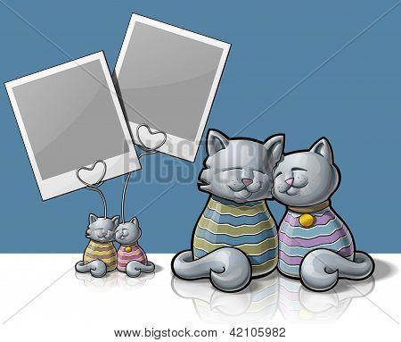 Cat Photo holder