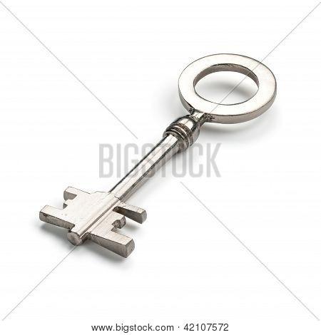 Silver Vintage Key