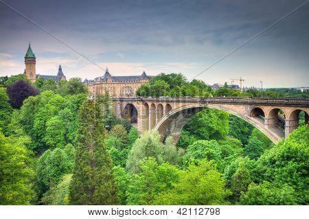 Luxemburg-Stadt-panorama