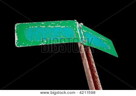 Forgotten Street Sign