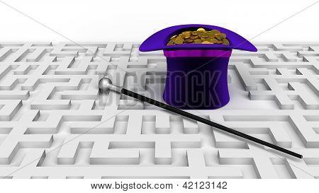 Magic Hat Labyrinth