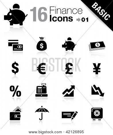 Basic -  Finance icons