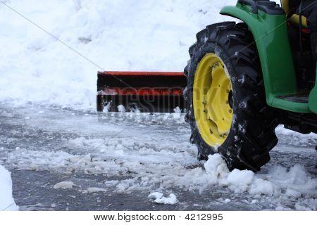 Plowing Snow
