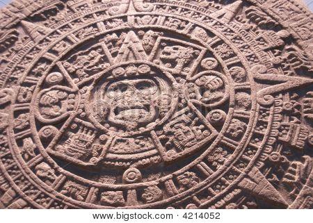 Aztec Altar Of The Sun,