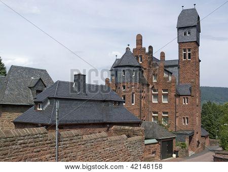 Red Brick House In Miltenberg