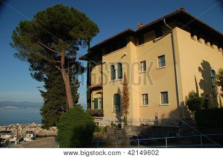 Building at Liburnijska ul. (Liburnian Street), Icici, Croatia