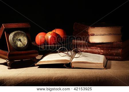 Fruits And Books