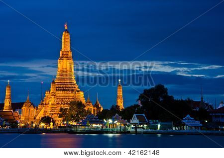 Wat Arun The Temple in Bangkok Thailand