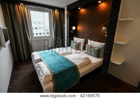 Interior Of Luxury Modern Hotel Room