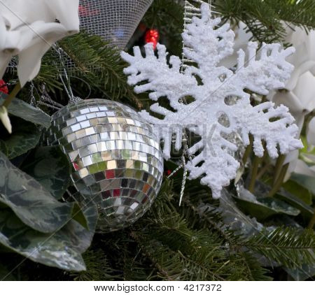 Disco Xmas Ornament