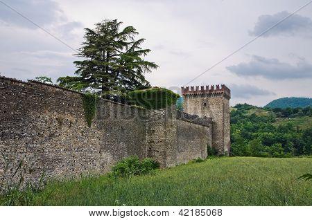 Castle of Riva. Ponte dell'Olio. Emilia-Romagna. Italy.
