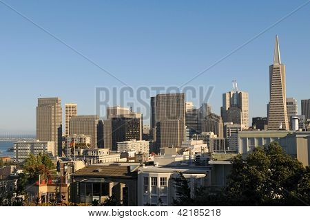 View Of San Francisco Downtown