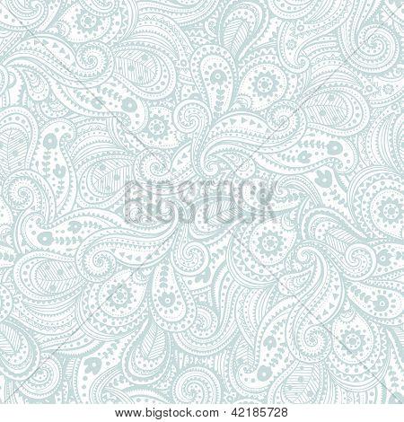 Ethnic paisley pattern