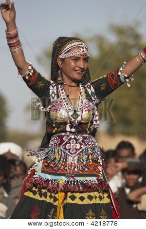 Beautiful Indian Dancing Girl