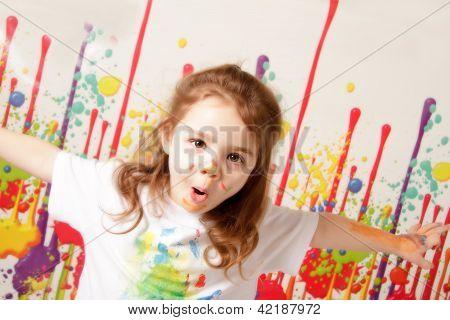 Pintura de niño