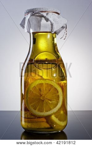 amazing fragrant tangy homemade infused lemon olive oil