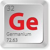 Постер, плакат: элемент германий