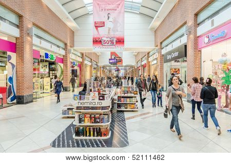 Shopping Mall Interior - Editorial