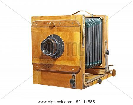 Old Photocamera.isolated.
