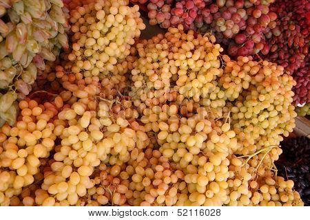 Bunch grapes