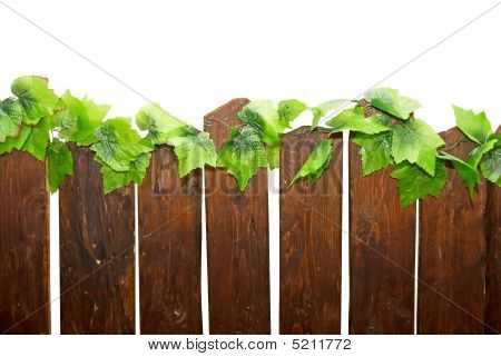 Part Of  Wooden Fence