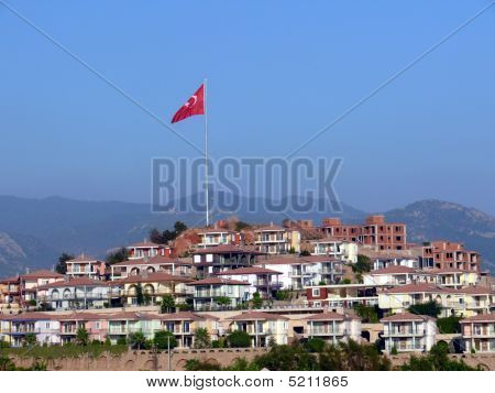 New Villa Town In Turkey