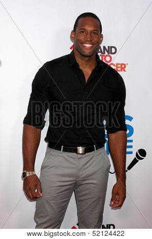 LOS ANGELES - OCT 8:  Lawrence Saint-Victor at the CBS Daytime After Dark Event at Comedy Store on October 8, 2013 in West Hollywood, CA