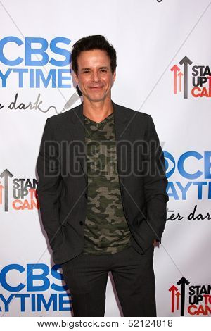 LOS ANGELES - OCT 8:  Christian LeBlanc at the CBS Daytime After Dark Event at Comedy Store on October 8, 2013 in West Hollywood, CA