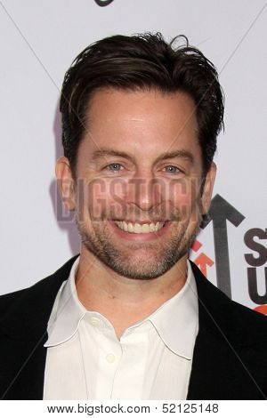 LOS ANGELES - OCT 8:  Michael Muhney at the CBS Daytime After Dark Event at Comedy Store on October 8, 2013 in West Hollywood, CA