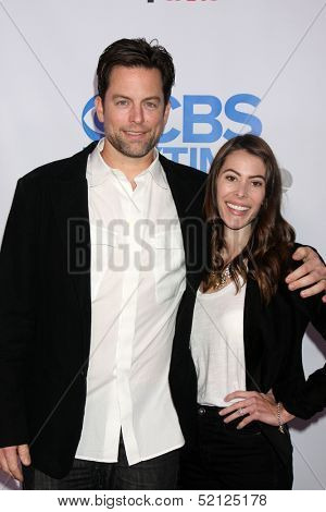 LOS ANGELES - OCT 8:  Michael Muhney, Jaime Garrison at the CBS Daytime After Dark Event at Comedy Store on October 8, 2013 in West Hollywood, CA