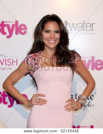 LOS ANGELES - OCT 9:  Joyce Giraud at the Hollywood In Bright Pink at Bagatelle LA on October 9, 2013 in West Hollywood, CA